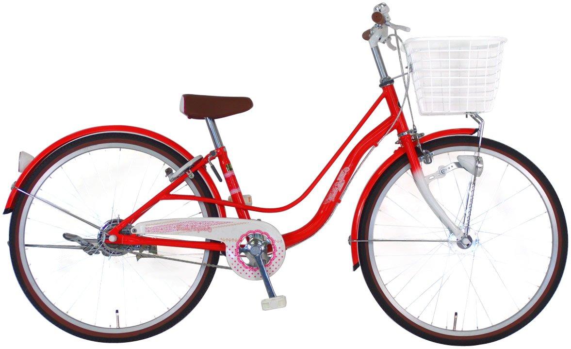 C.Dream(シードリーム) フルーツパフェ FP41-H 24インチ 子供自転車 レッド 100%組立済み発送 B014KP9KTW