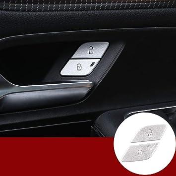 Auto Türschloss Aufkleber 2 Stück Für Benz A B Klasse W177 W247 Glb X247 Gla X156 Cla W118 2020 Zubehör Auto