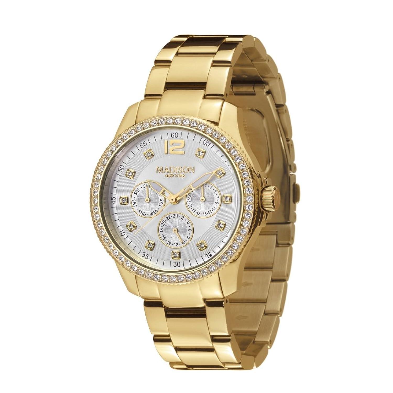 Madison New York Glamor Damen Armbanduhr Jolie L4792C1