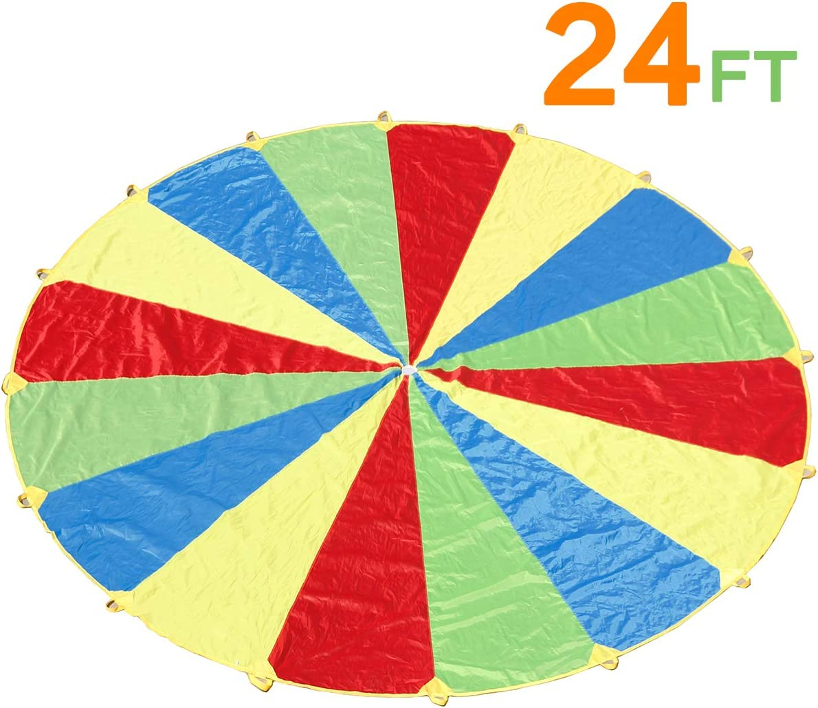 16ft 20ft 24ft Kids Play Parachute