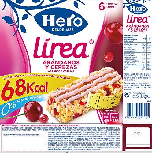 Hero muesly linea arandanos cereza 6x20g: Amazon.es: Alimentación y bebidas