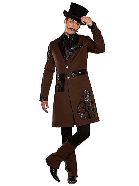 Men's Steampunk Clothing, Costumes, Fashion Lip Service Costume Vault Mens Full Steam Ahead Costume $39.99 AT vintagedancer.com