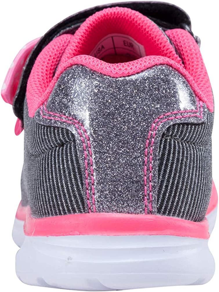 D.SEEK Toddler Fashion Sneakers Casual Sport Shoes with Cute Bowknot