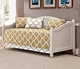 Linen Plus 5pc Daybed Cover Set Quilted Geometric