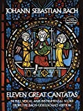 img - for Eleven Great Cantatas (Dover Music Scores) book / textbook / text book