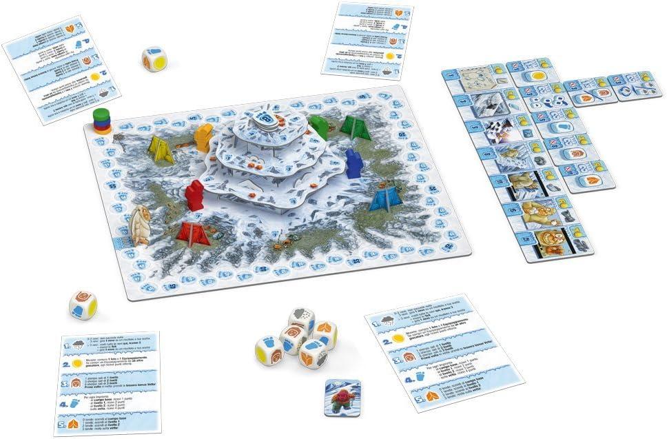 dV Giochi DVG9323 Yeti - Juego de Mesa: Amazon.es: Juguetes y juegos