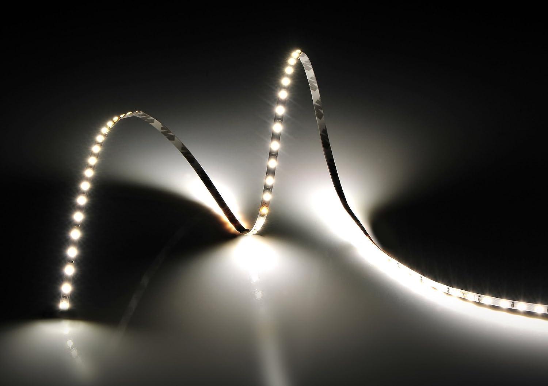 Rolle 5 Meter Strip 600 LED LED LED 2216 SMD Natürliches Licht 5 mt 24 V DC PCB schmal 4 mm mit doppelseitig CRI 95 + Mod. Premium B0786RBRX1 Lauflichter & Lichtschluche f710fd