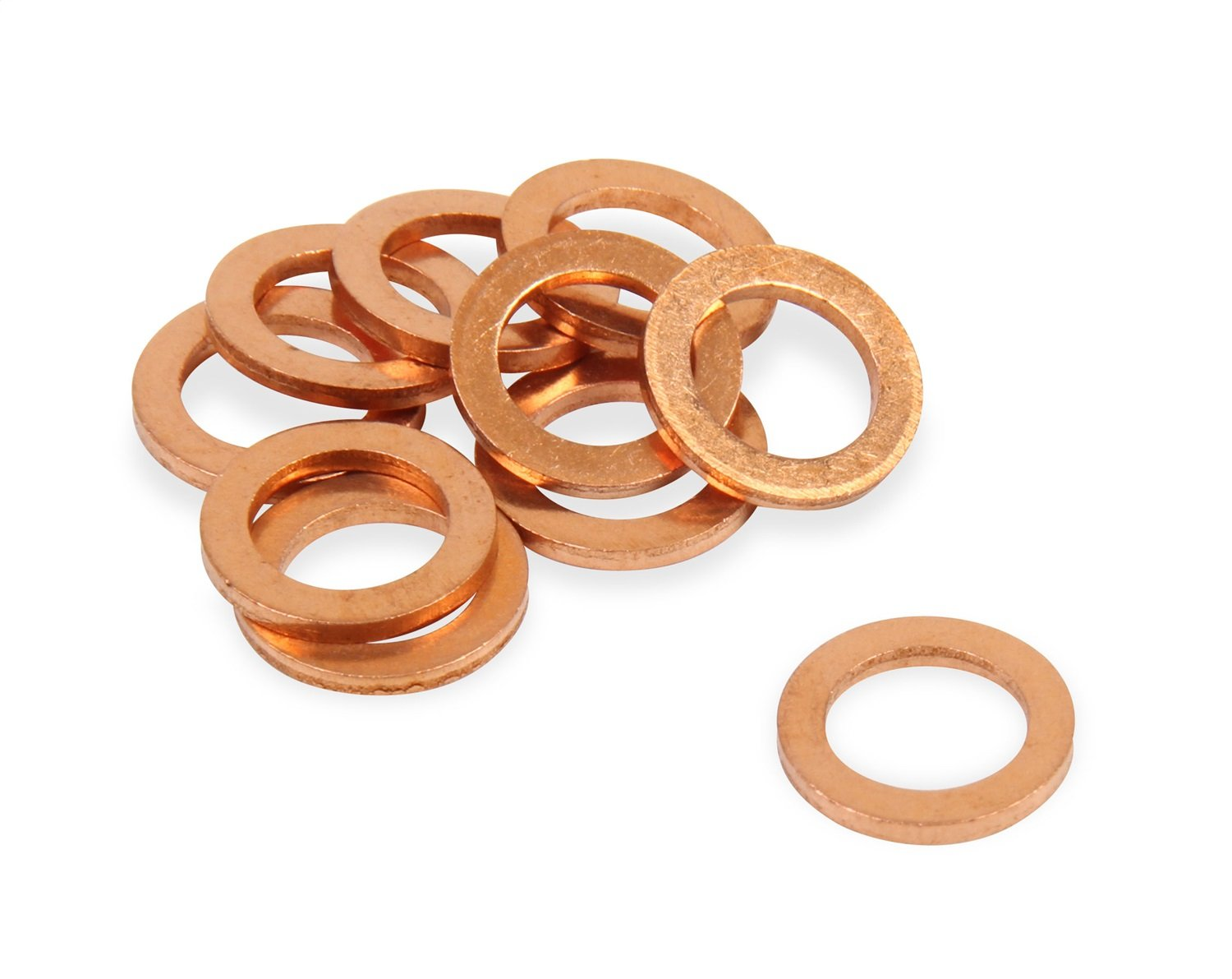 Earl's 177102ERL 7/16 Copper Crush Washers Pkg of 10 Earl' s Performance 7.3115R