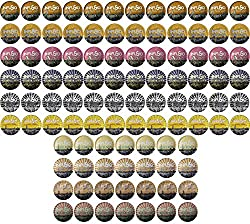 96 Count Variety (10 Amazing Blends), Single-serve Cups for Keurig K-cup® Brewers - Premium Roasted Coffee made by Infusio