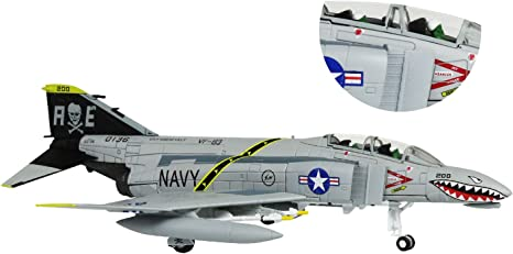 Lose/Fun/Park 1:100 Milit/ärische Modellflugzeug F-14 Druckgusslegierung Kampfflugzeugmodell