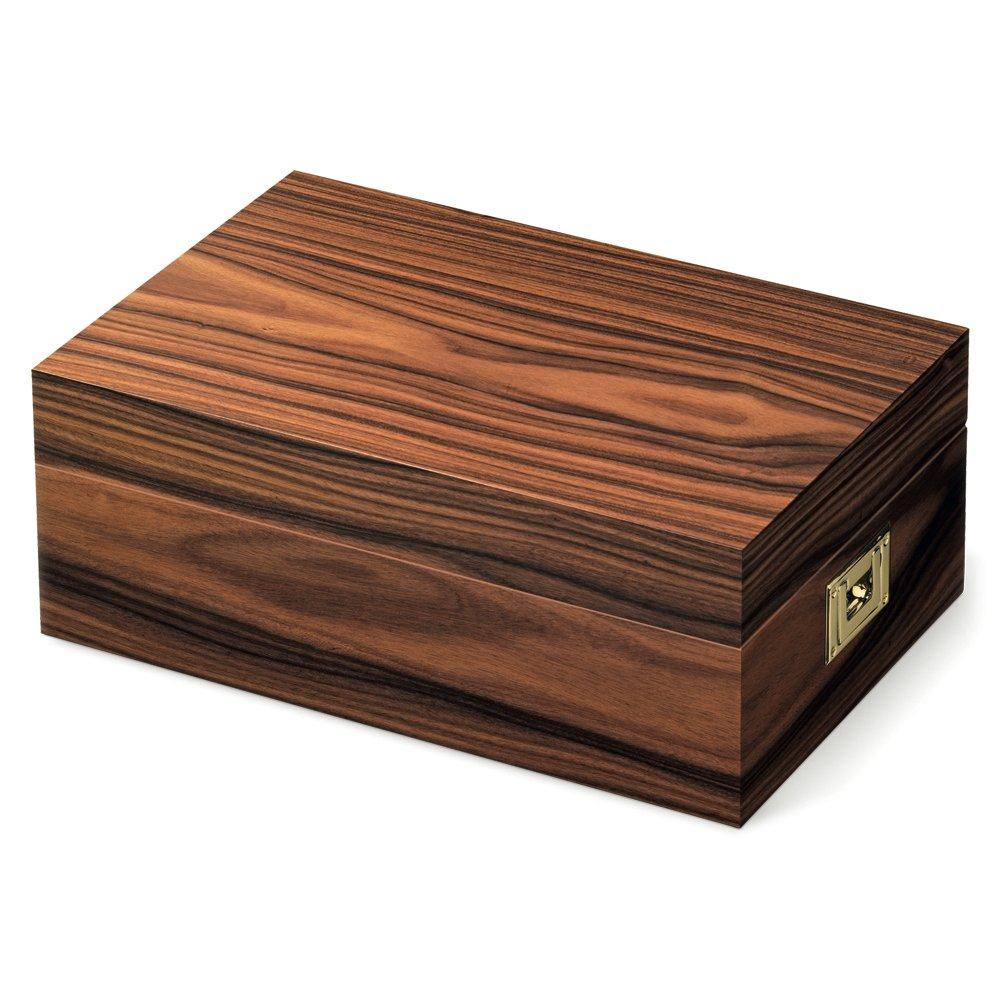 Davidoff DA91073 Holz Humidor Box für Zigarren, Zigarren-Zubehör - Braun