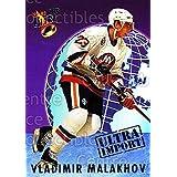 Vladimir Malakhov Hockey Card 1992-93 Ultra Import #14 Vladimir Malakhov