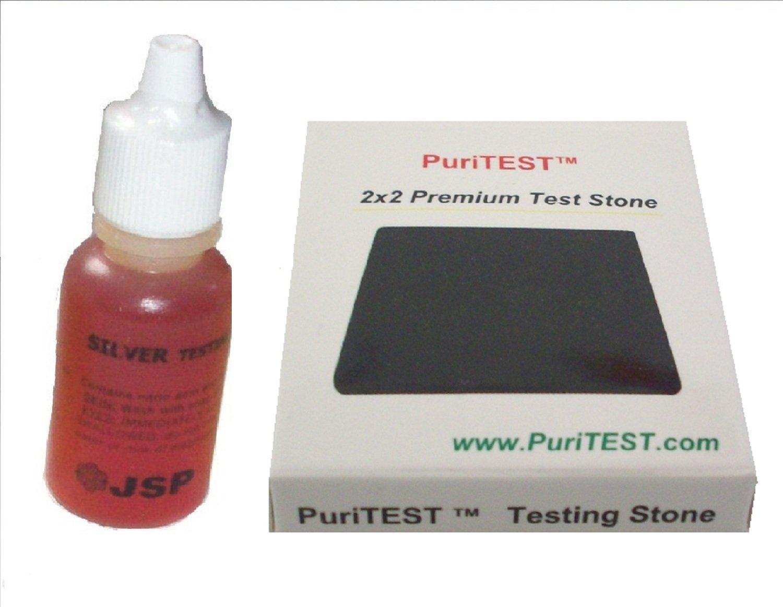 Silver Test Testing Tester Acid Bottle Detect .999 Sterling Metal Kit Jewelry