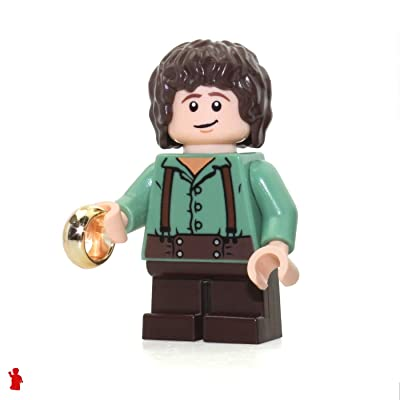 LEGO the Lord of the Rings Frodo Baggins Minifigure (with the One Ring) 30210: Toys & Games