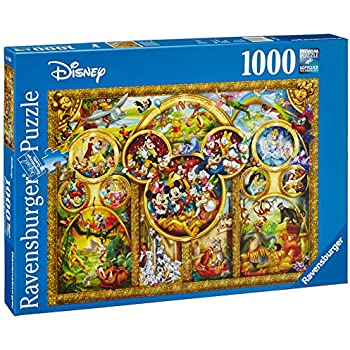Amazon 1000 piece mickey mouse magic d 1000 376 japan import ravensburger disney best themes jigsaw puzzle 1000 piece gumiabroncs Images