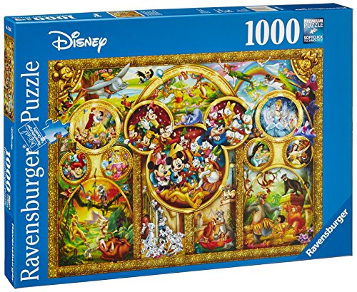 Ravensburger The Best Disney Themes 1000 Piece Jigsaw - Jigsaw Puzzles 1000 Piece Disney