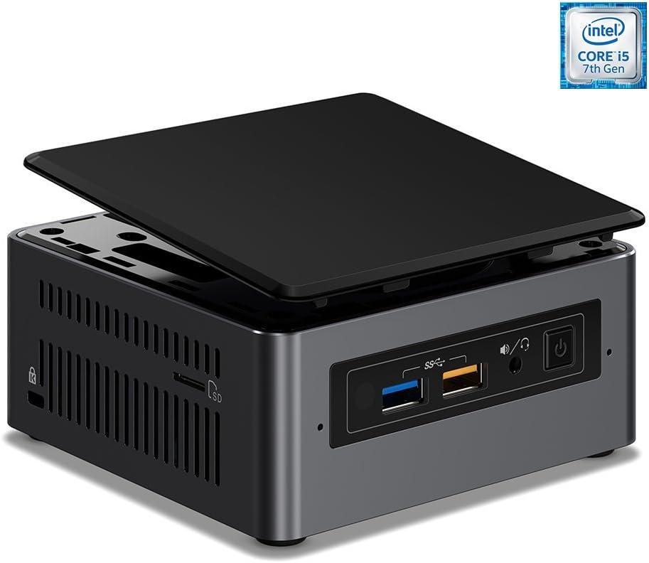 Intel NUC7I5BNH Tall Mini Desktop - 7th Gen Intel Core i5-7260U Dual-Core Processor up to 3.40 GHz, 8GB Memory, 256GB SSD, Intel Iris Plus Graphics 640, Windows 10 Pro