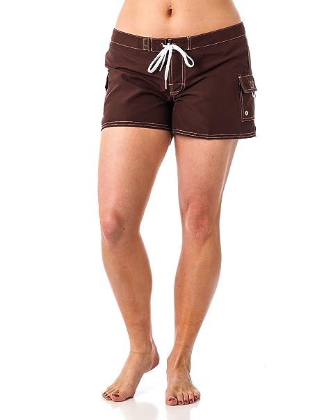 792430c019 Young Women's Beach Rays BoardShort Swimwear at Amazon Women's ...