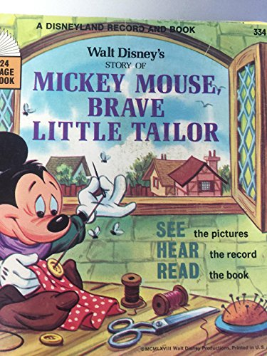of Mickey Mouse Brave Little Tailor : A Disneyland Record and Book (Mickey Mouse Brave Little Tailor)