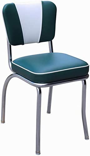 Richardson Seating Retro 1950s V-Back Chrome Diner Chair