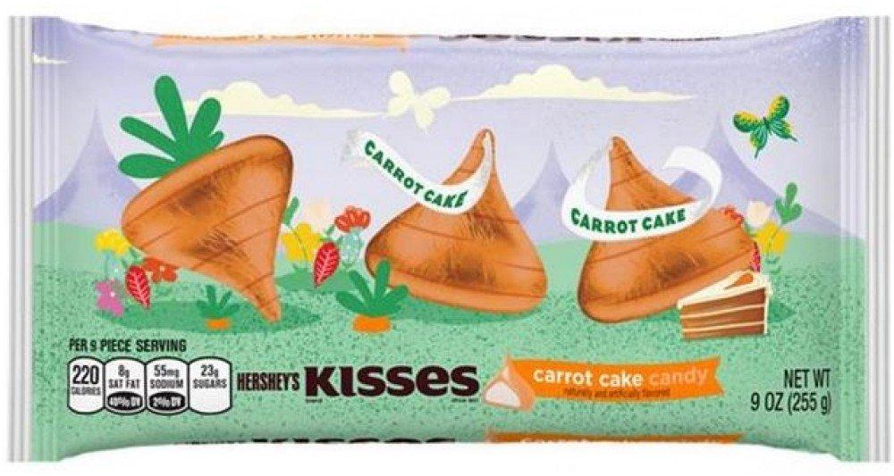 Amazon Hersheys Kiss Carrot Cake 9oz One Bag