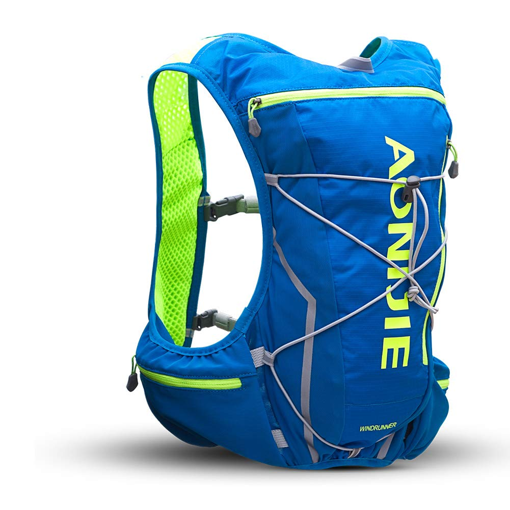 POJNGSN Outdoor Camping Hiking Bag Men Women Bicycle Cycling Bags Vest Running Backpack 10L Set E by POJNGSN (Image #3)