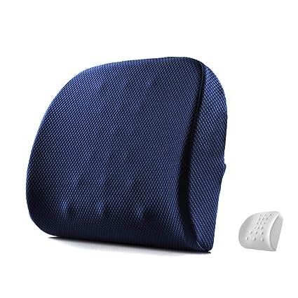 Cojín de asiento lumbar apoyo para silla de oficina de coche sillas de ruedas calidad memoria