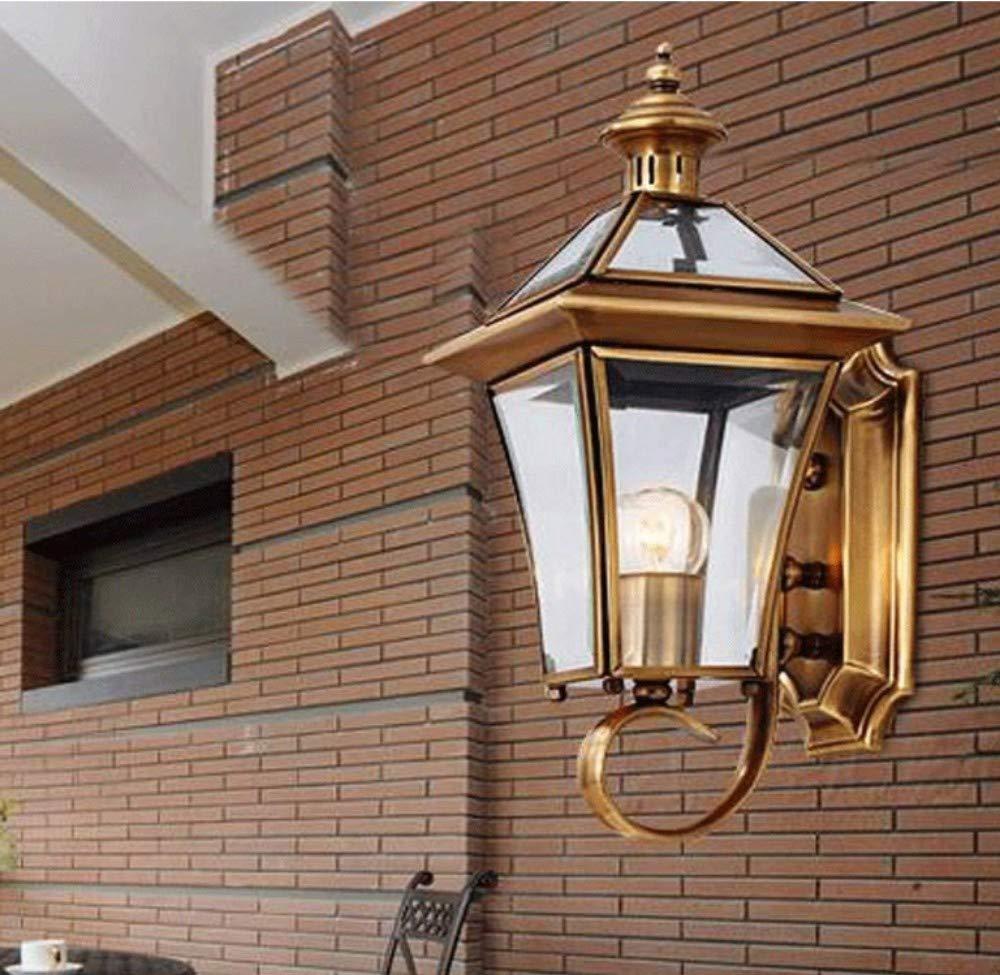 Lampe Flur im Freien Balkon Schlafzimmer Nachttischlampe Handwerk amerikanische Wandleuchte