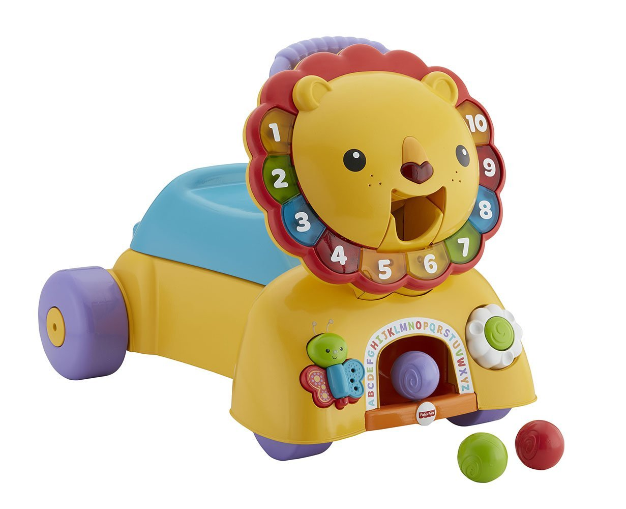 Stride and Ride Lion Set Fisher-Price DPL57 3-in-1 Sit