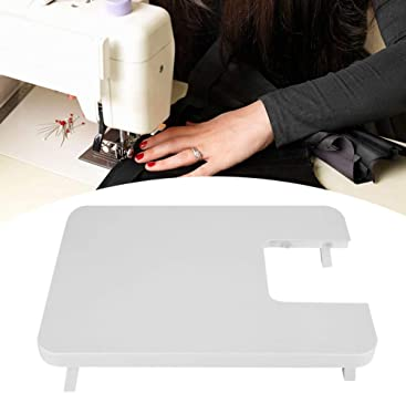 Opinión sobre Mesa de extensión de máquina de coser resistente de diseño único, tablero de máquina de coser portátil, para principiantes, manualidades DIY, costura casera