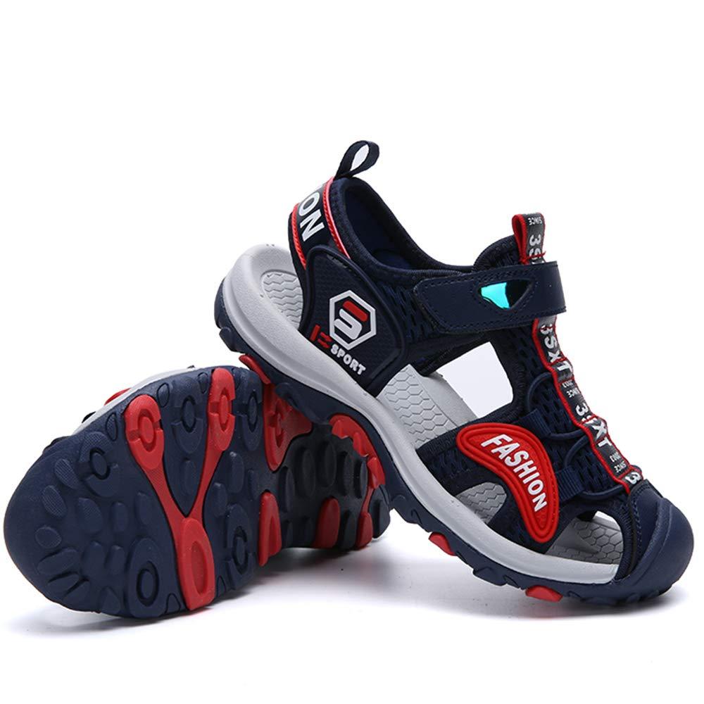 Jungen Sandalen Kinder M/ädchen Sandalette Outdoor Geschlossen Sandalen Sommer Schuhe Klettverschluss