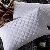 Pillows for Sleeping, Goose Down Alternative Quilted Bed...
