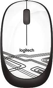 Logitech 910-002944 M105 USB Kablolu Fare, Beyaz