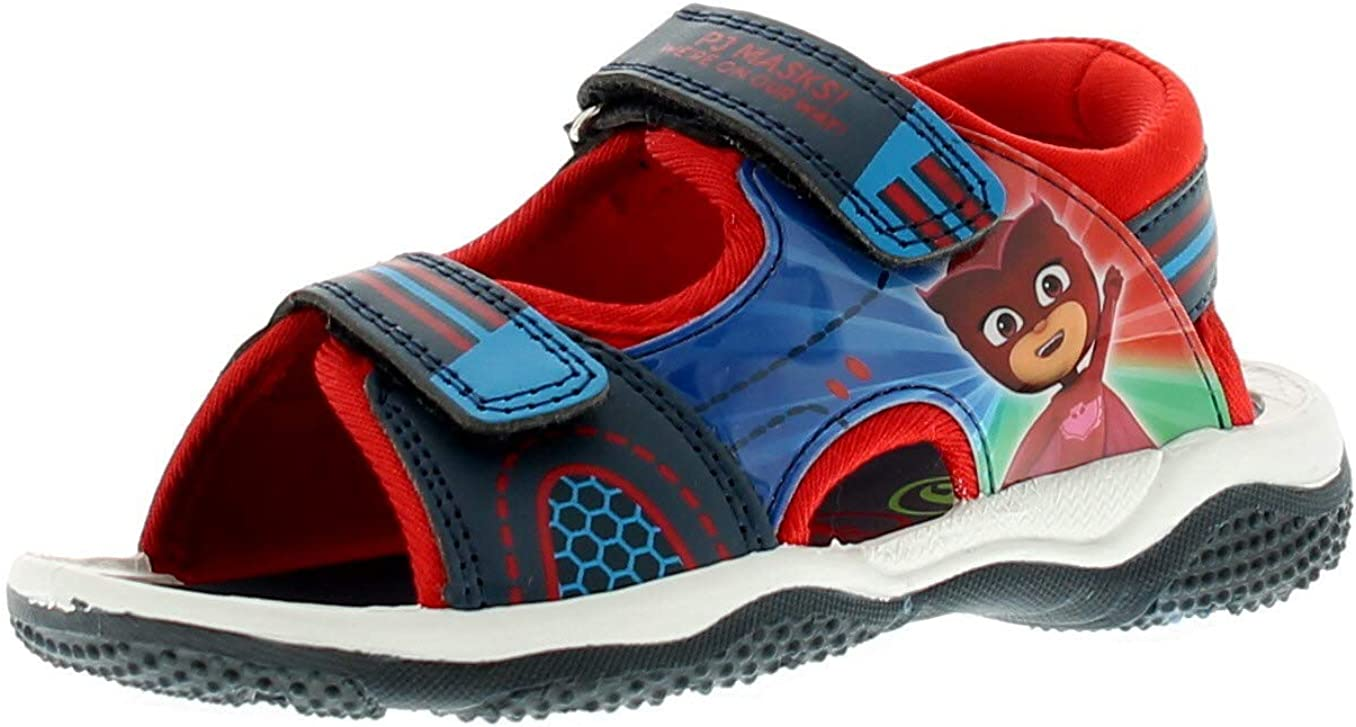PJ Masks Boys Sandals with Sport Style Soles