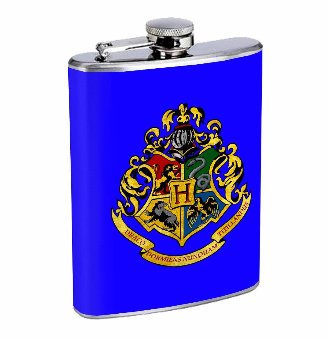 新作からSALEアイテム等お得な商品満載 Hogwarts Hogwarts Crest magic Potter Potter 8オンスステンレス鋼フラスコDrinking B01K6KMCTA Whiskey B01K6KMCTA, LaG OnlineStore:a2b023d7 --- ecofriendlycarrybag.com