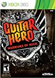 xbox 360 software - Guitar Hero: Warriors of Rock Stand-Alone Software - Xbox 360
