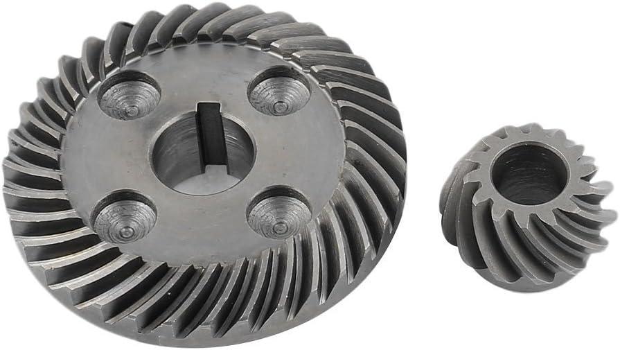 Sourcingmap a14061300ux0722 Piezas de herramientas el/éctricas espiral del engranaje c/ónico para hitachi amoladora angular g10sf3