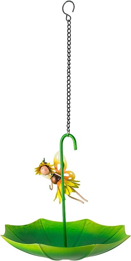 World of Make Believe Fountasia Dinkie Daffodil Pot Hanger Metal Garden Ornament