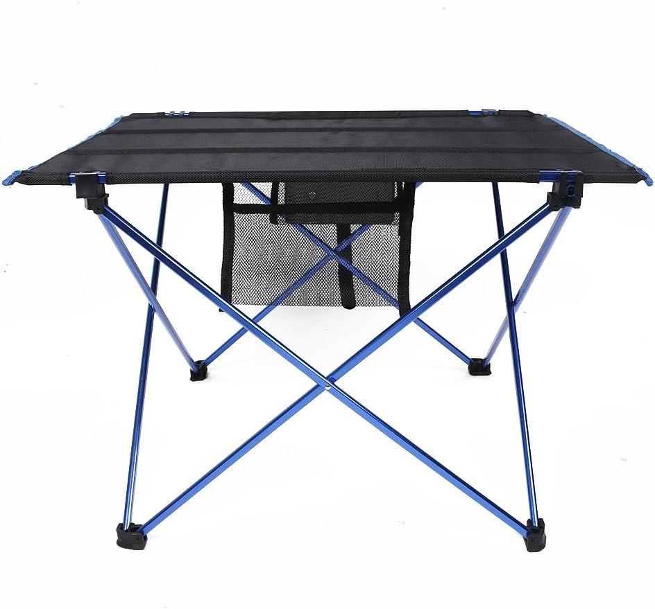 CJOY Mesa plegable ultraligero port/átil ligero dise/ño compacto Camping senderismo mesa de picnic con bolsa de transporte