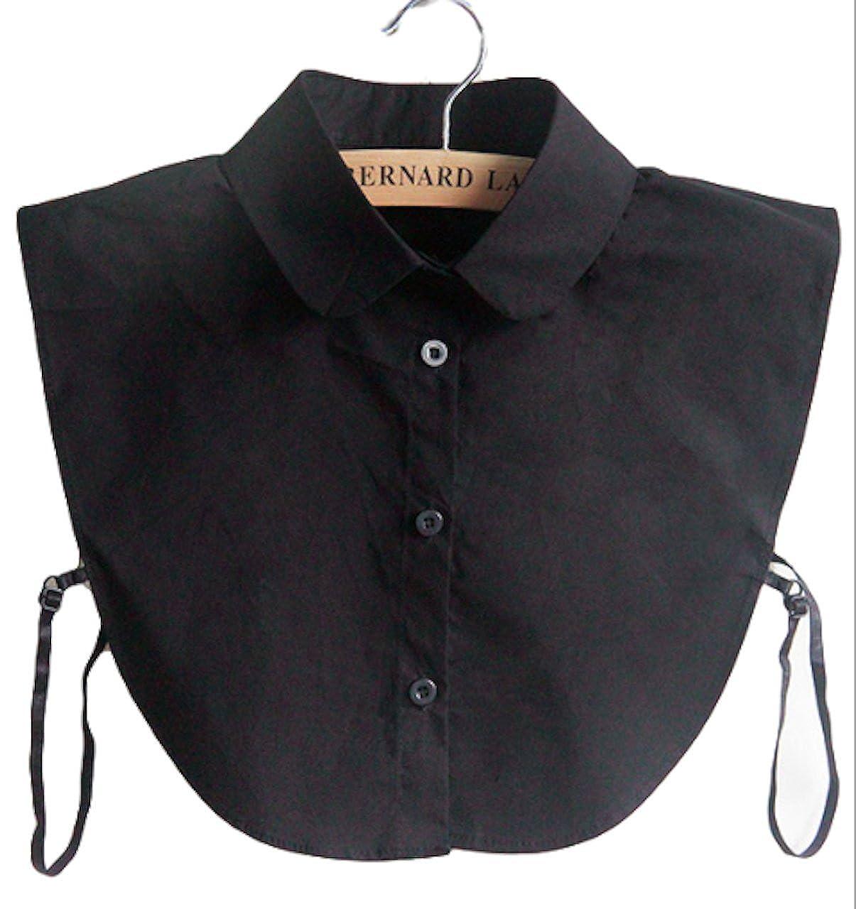 20ffd1cc484660 Top3: P-LINK False Collar Fake Half Shirt Blouse Neat Cute Wearing for  Girls and Women