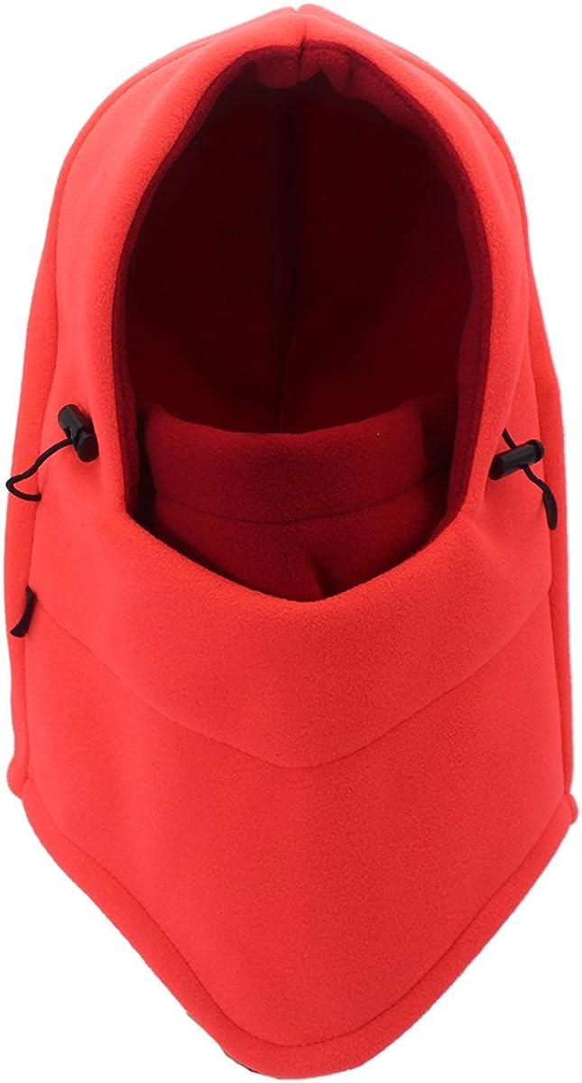 Outfly Polaire Casque Balaclava Coupe-Vent Masque Complet Thermique Chapeaux /À Capuchon Ext/érieur Double-couche beaucoup de couleurs