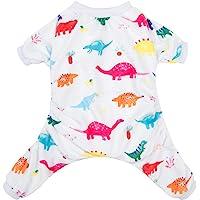 CuteBone Dog Pajamas Dinosaur Dog Apparel Dog Jumpsuit Pet Clothes P01(Xs)