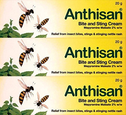 Anthisan Cream - Anthisan Bite & Sting Cream 20g x 3 Packs by Anthisan