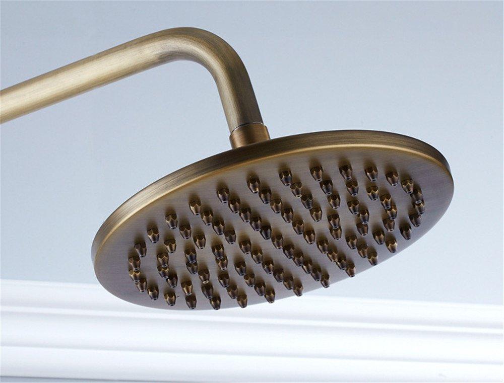 Hlluya Hlluya Hlluya Wasserhahn für Waschbecken Küche Alle Kupfer antik Dusche Badewanne Dusche Dusche Wasserhahn + Handheld kit Dusche ef1a03