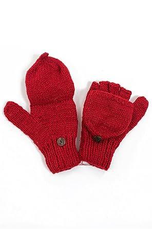 esthétique de luxe magasiner pour les plus récents aspect esthétique Moufles mitaines rouge uni pure laine et - Homme: Amazon.fr ...