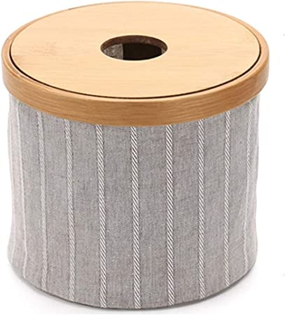 caja de pañuelos Suministros de Limpieza y saneamiento Madera de bambú Mesa de café for Sala
