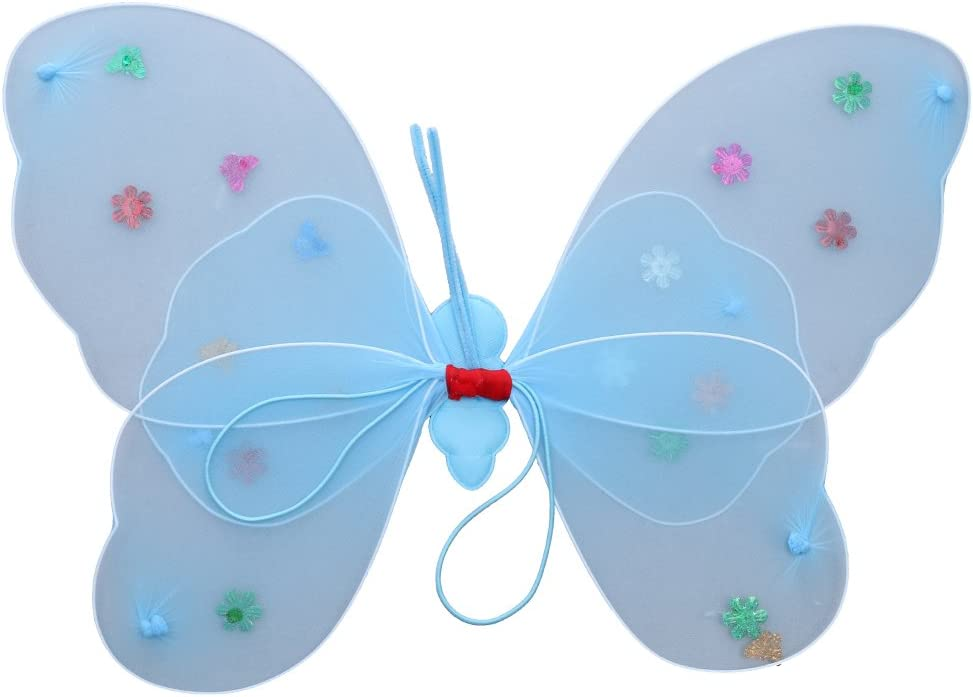 Blau MagiDeal Neugeborenes Baby Rock Tutu Kleidung Schmetterling Kost/üm Foto Prop Outfits Bekleidung Set