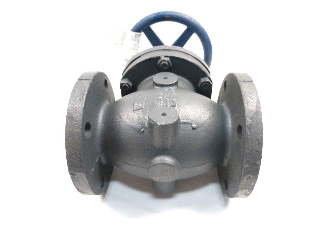 NIBCO F-718-B IBBM Iron FLANGED Globe Valve 2-1//2IN 125 D600509
