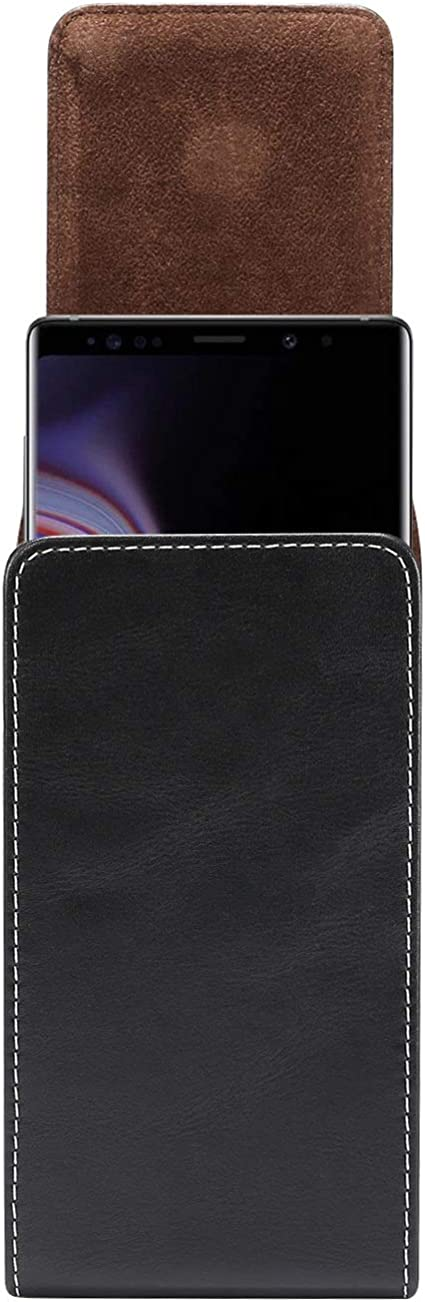Funda para Samsung Galaxy S20+//S20 Ultra S10 Lite// Note10 Lite//Note 10+//A70//A70S//A20S A80 A90 de piel con clip para cintur/ón funda para cintur/ón para Huawei Mate 20x