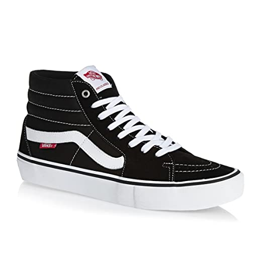 classic vans black and white
